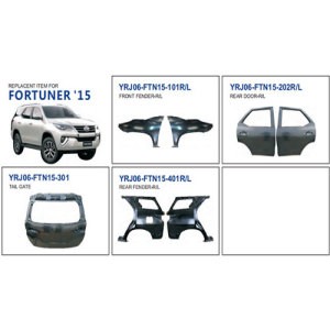 Toyota Fortuner 2015 Auto Body Parts