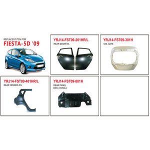 Ford Fiesta-5D 2009 Auto Body Parts