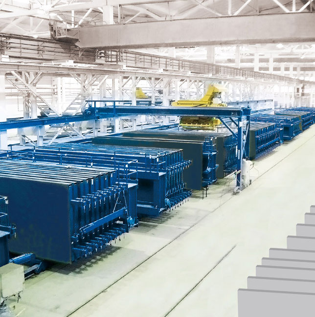HBM large scale vertical wallboard production line