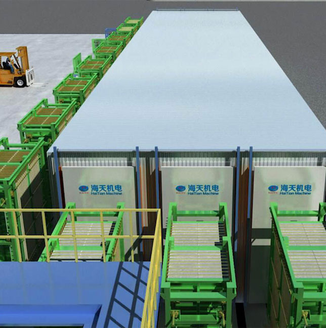 HLLJ automatic polystyrene particle composite lightweight panel production line