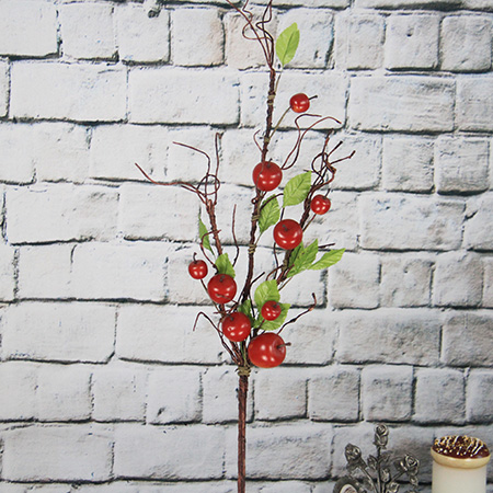Artificial Decorative Fruits Spray Apple