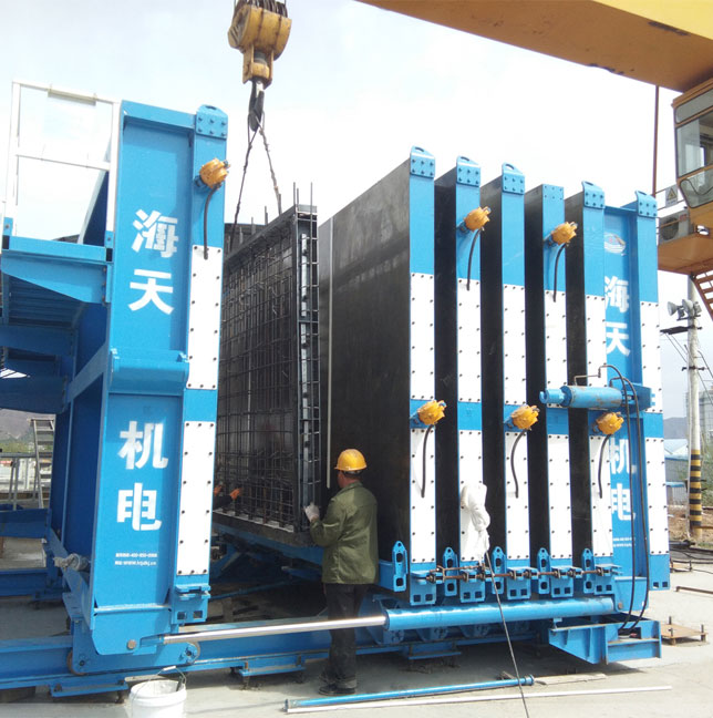 HBM large-scale battery mold wallboard production line