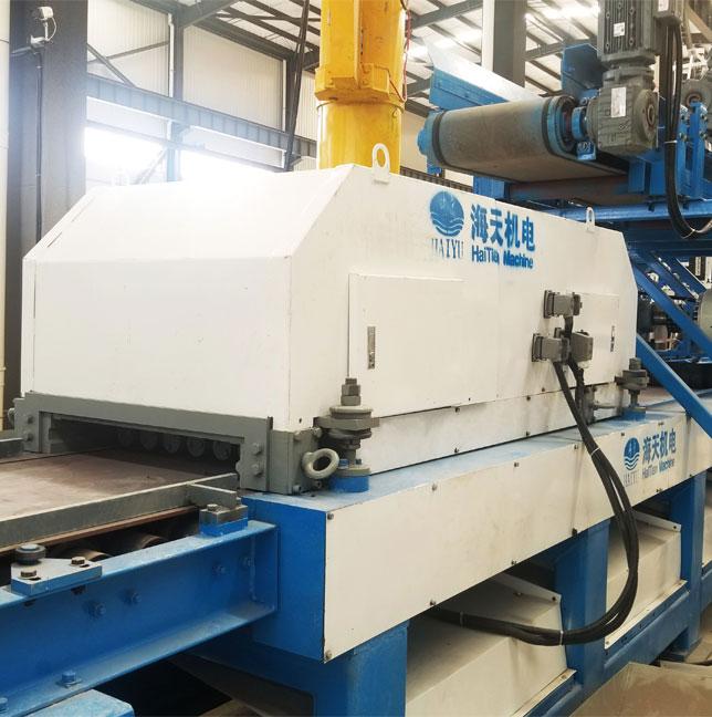 Línea de producción de máquinas de fabricación de paneles ligeros automáticos HQJD