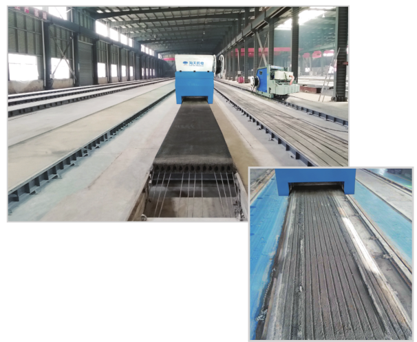 HSF Multifunctional precast concrete formimng machine  production line