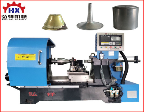 CNC Metal Brass Spining Machine for Copeer Trumpet