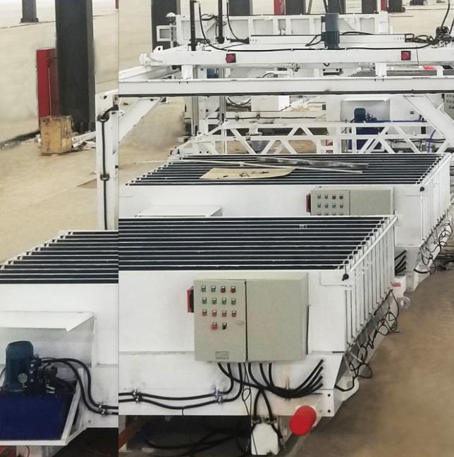 Panneau de béton HWLJ Ceramsite faisant la ligne de production de machine