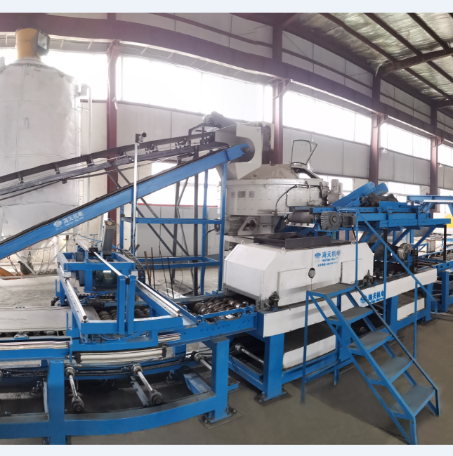 HQJD Automatic lightweight wallboard shaping machine production line