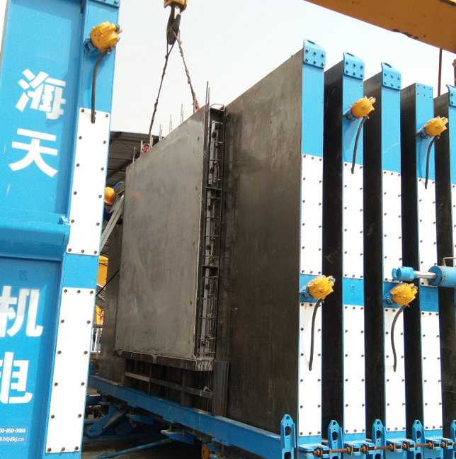 HBM large scale battery mold wall panel production line