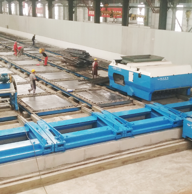 HCXT prestressed long-line platform production line (laminated panels, interior and exterior wall panels, etc.)