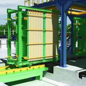 HLLJ ligne de production de panneaux muraux légers EPS