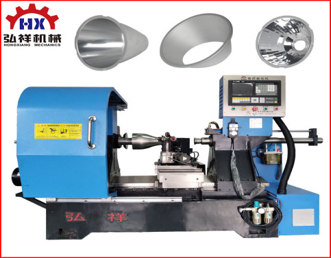 CNC Lamp Reflector Metal Spinning Lathe Machine
