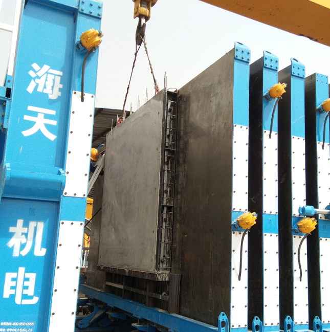 HBM vertical wallboard production line