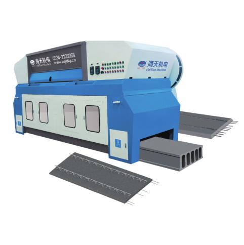 Línea de producción de paneles de hormigón pretensado HSF multifuncional