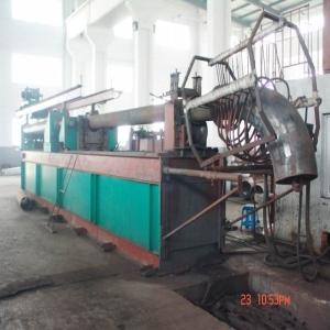 Elbow making machine