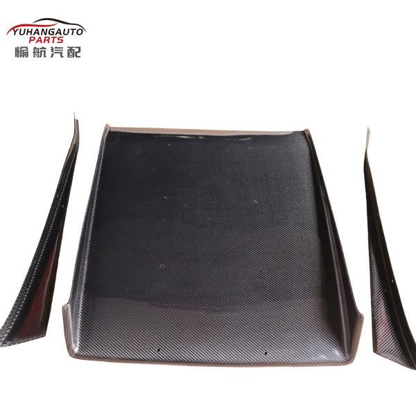 carbon fibre rear diffuser