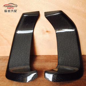 For subaru Impreza Hatchback GRB GRF WRX STI 10th Bumper Varis style carbon fiber Heat Sheild