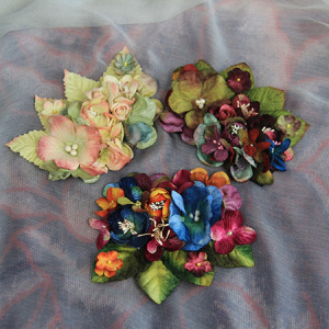 Colorful Flowers Bracelet, Hair Pin, Hair Band, Hair Ornament, Bow Tie, Corsage, Neck Seam, Neck Spend, Necklace, Hat Accessories,Garment Accessories