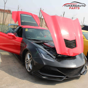 For corvette C07 wide bodykit in Fiberglass and carbon fiber