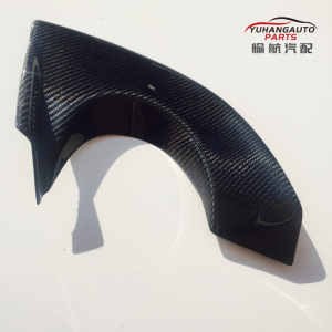 For mitsubishi Lancer Evolution 9 JDM  carbon fiber Rear Bumper Varis Exhaust Heatshield