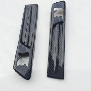 For Nissan Skyline R35 GTR Emblem Cover (pair) Carbon Fiber