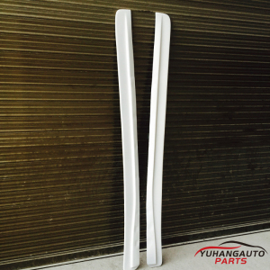 For Mazda RX7 FD3S side skirt Extension (Pair) FRP white