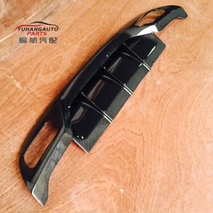 For mecedez benz  W176 A45 Varis style Carbon fiber Rear diffuser (2Pcs/set)