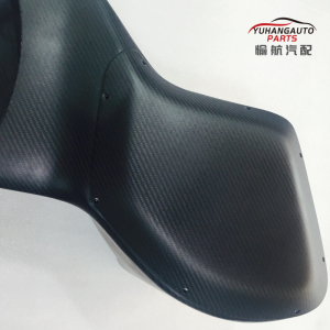 Full carbon fiber kaisan style air box for MitsubIshi lancer evolution X 10 evo x 10