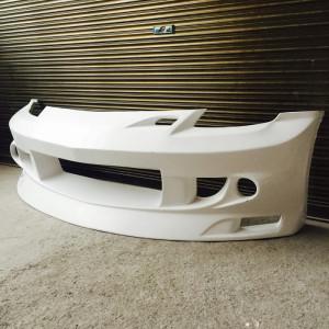 Für Nissan 350z z33 Fairlady JP Typ-N Stil Front Stoßstange Glasfaser