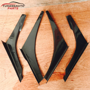For mitsubish Lancer evolution EVO 7-9 Evolution 7-9 VOLTEX CYBER EVO TRACK VER.1 STYLE CANARD 4pcs/set carbon fiber 5.0
