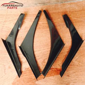 Für mitsubish Lancer evolution EVO 7-9 Evolution 7-9 VOLTEX CYBER EVO TRACK VER.1 STYLE CANARD 4pcs/set carbon fiber 5.0