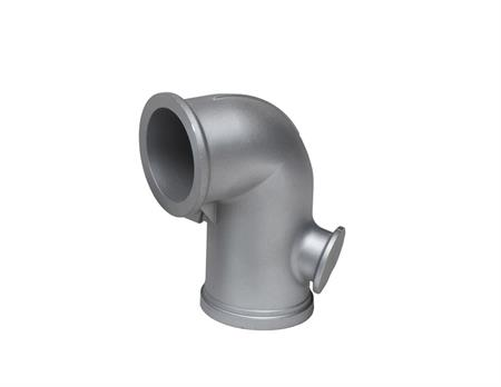 Stainless steel casting elbow