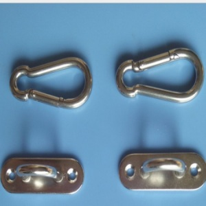 Hardware parts fixing buckle