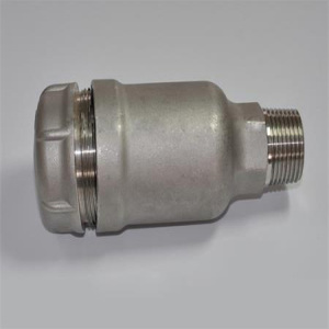 Stainless steel precision casting solenoid valve body castings