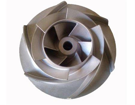Stainless Steel casting pump impeller casting