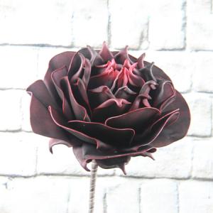 LP126Z166 Black Rose Foam Flower