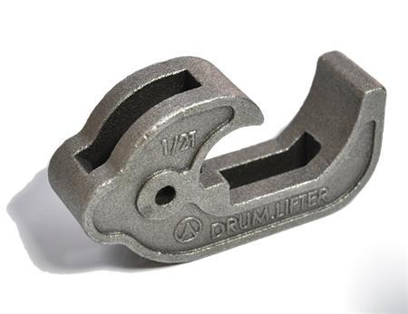 Steel casting hook for electric hoist