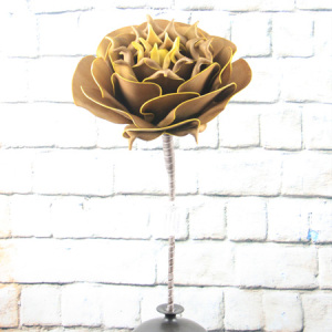 Artificial Flowers Big Rose Flower Wedding Flower For Home Decoration Supermarket Hotel Restaurant Airport Window Show
