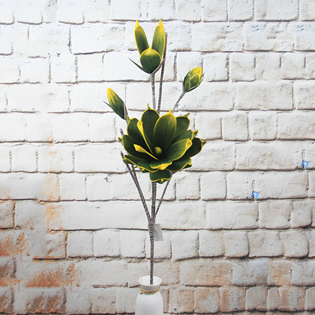 Artificial Flowers Eva Magnolia Flowers  For Home Decoration Supermarket Hotel Restaurant Airport Window Show