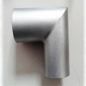 Lost Wax Casting 90 ° Pipe Fittings Pipe Elbow