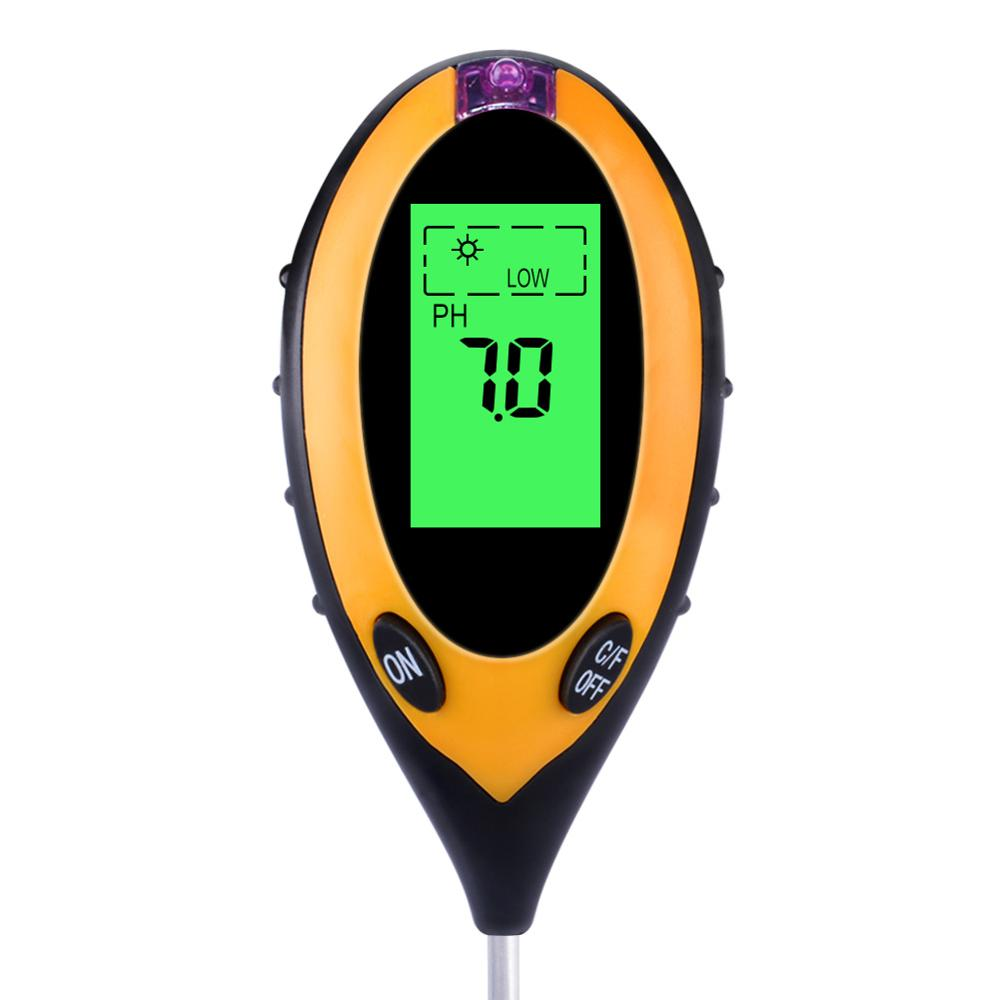 VP-S01  4 in 1 Soil meter (PH & Light & Moisture &Temperature )