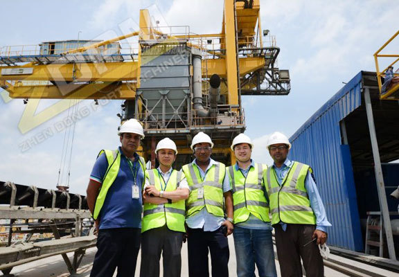 ZDPM New Project Of Fixed Crane In Chittagong Port Bangladesh