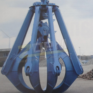 Mechanical timber grab