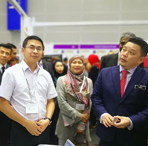 WTAU Sparkling Show In 2018 Malaysia Oil and Gas Service Exhibition (MOGSEC)