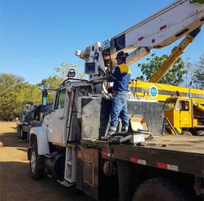 WTAU products made great breakthrough in Central America crane market