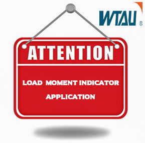Attentions During the Crane Load Moment Indicator LMI Application