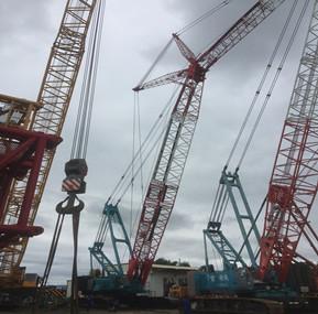 WTAU, the Crane Safety Warrior Busy Shuttled in Taiwan
