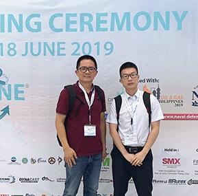 Weite Technologies participó en 2019 Exposición marítima filipina