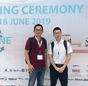 Weite Technologies participated in 2019 Philippine Maritime Exhibition