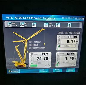 crawler crane load moment indciator (LMI) for Thailand  hitachi KH500 50t