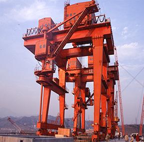 Le système de surveillance et de gestion de la grue WTAU sert pour le pont roulant de la centrale hydroélectrique de Sanmenxia